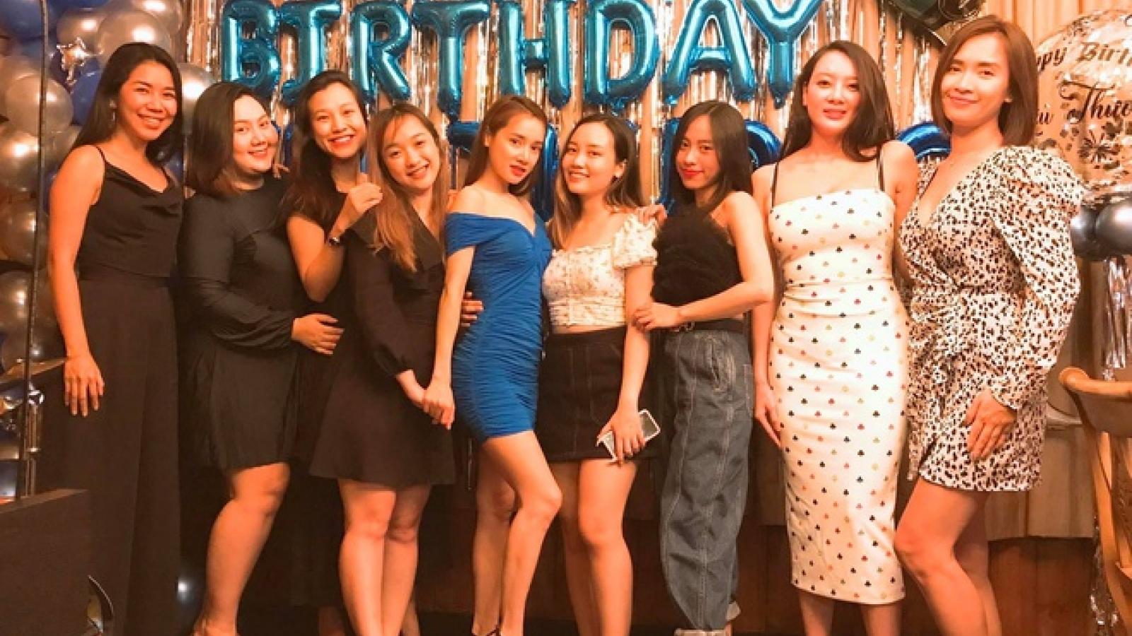 Trường Giang tự tay tổ chức sinh nhật cho bà xã Nhã Phương