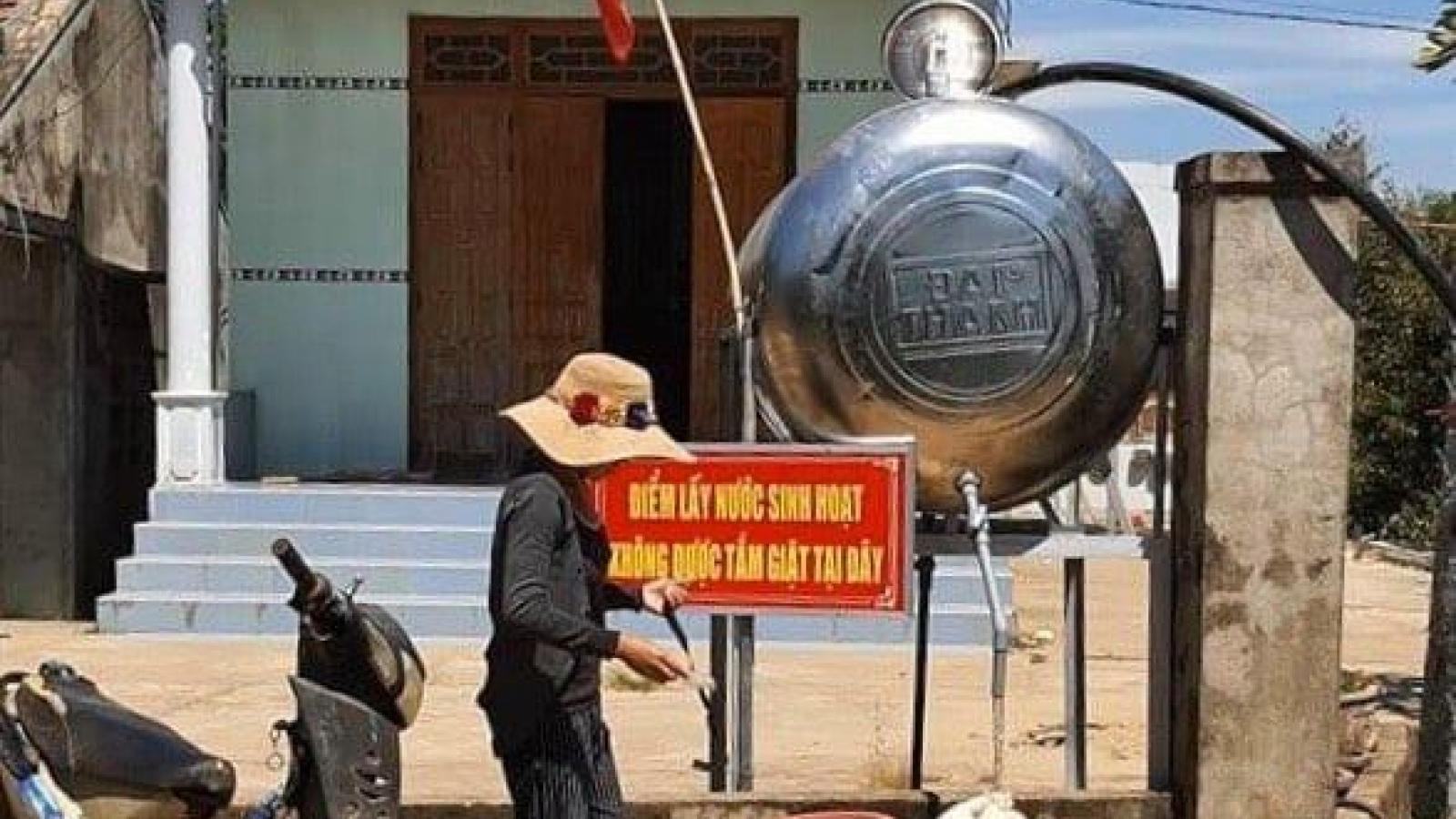 26.000 hộ dân ở Khánh Hòa có nguy cơ thiếu nước sinh hoạt