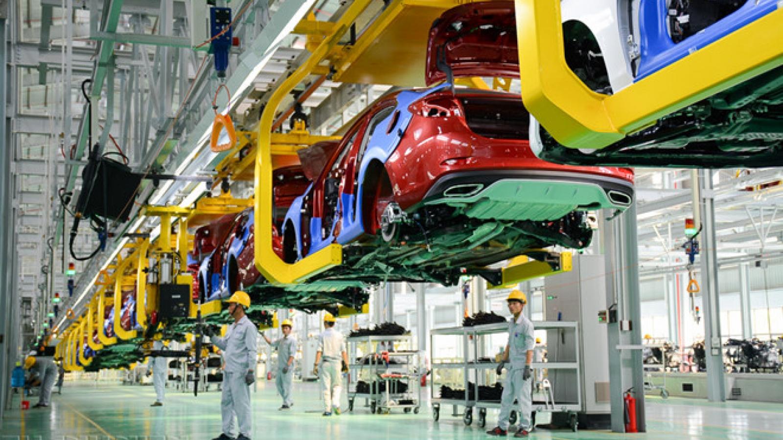 Chính thức giảm 50% lệ phí trước bạ đối với ô tô sản xuất, lắp ráp trong nước