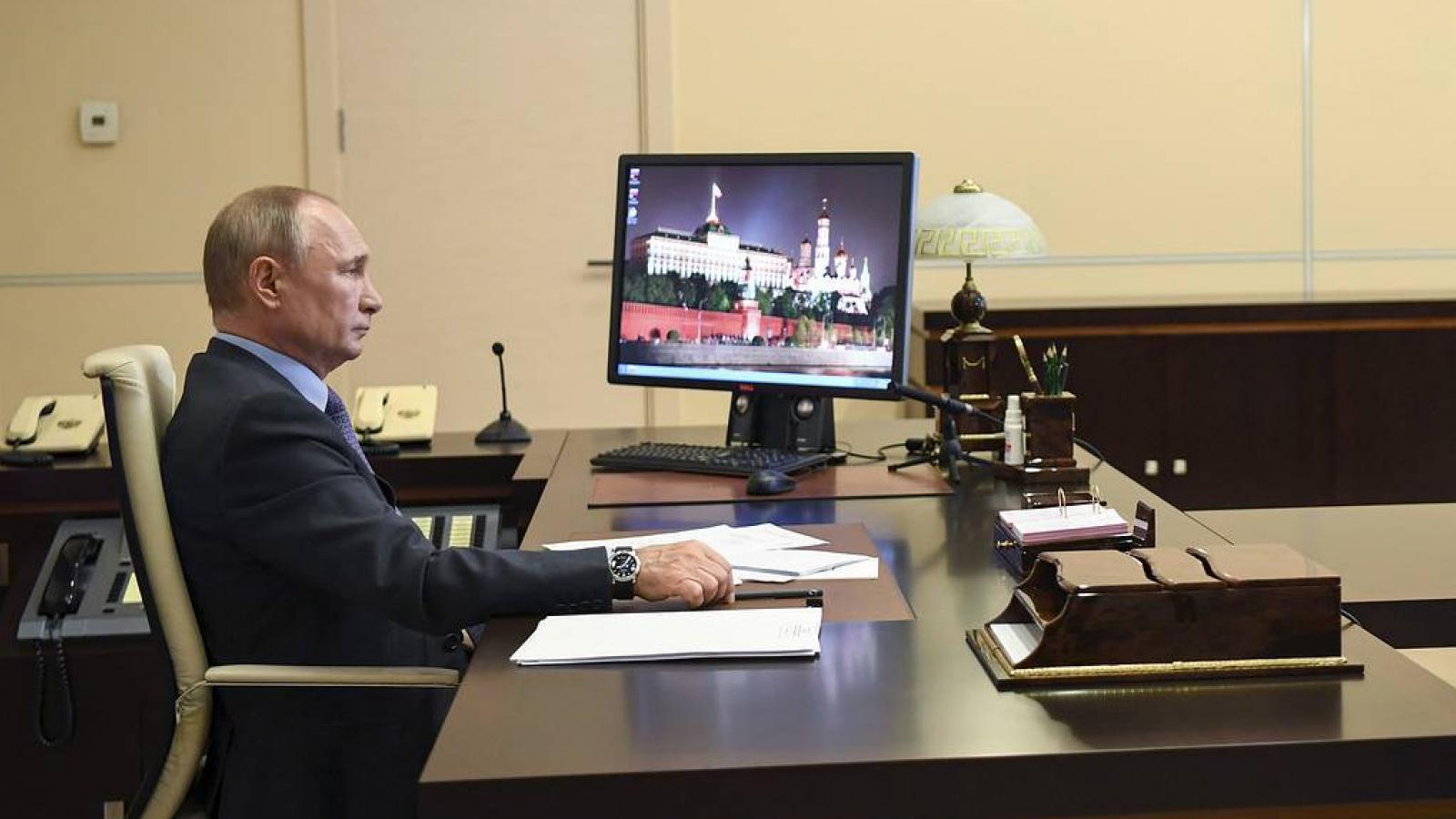 Ông Putin: Một số nước đang tìm cách đổ lỗi cho Liên Xô về Thế chiến 2