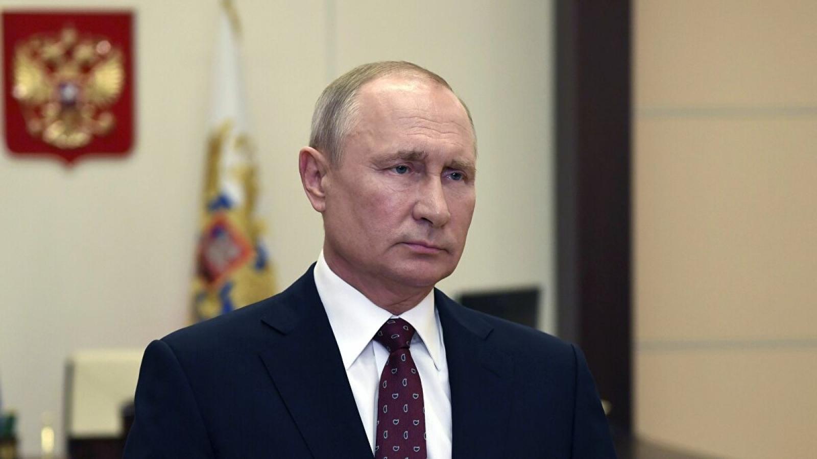 """""""Nước Nga được bảo vệ trước bất cứ sự can thiệp nào của nước ngoài"""""""