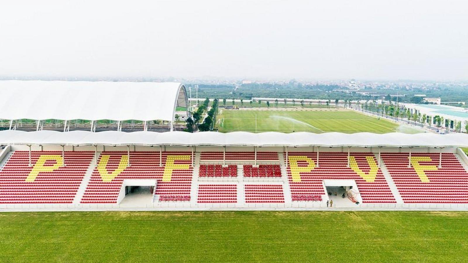 Sân vận động đầu tiên ở Việt Nam mở đón khán giả vào sân sau Covid-19