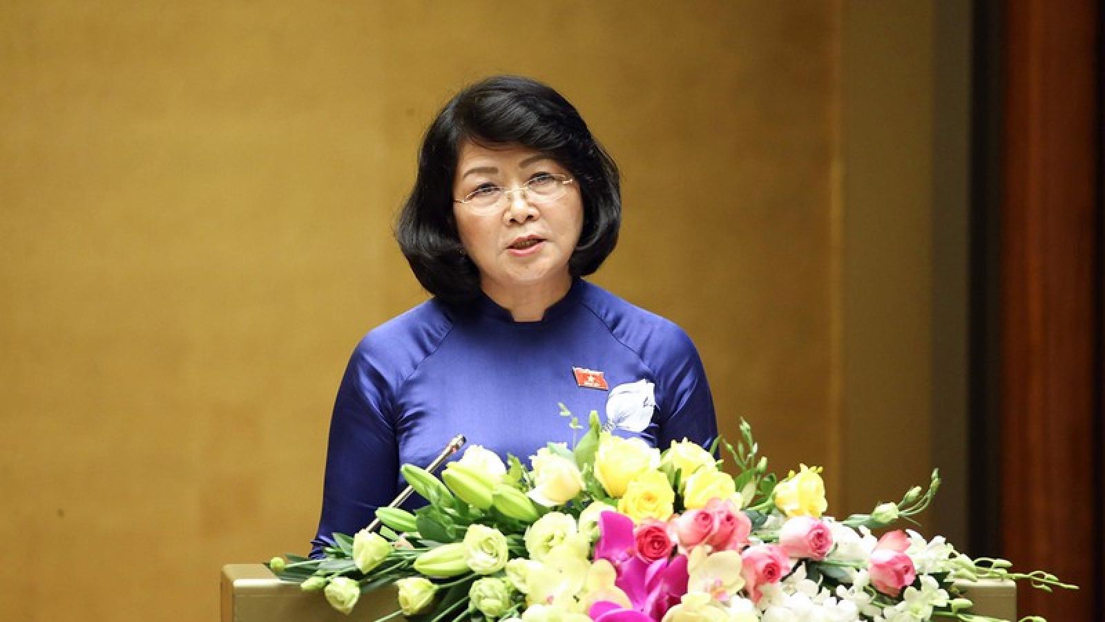 Chủ tịch nước trình Quốc hội phê chuẩn Công ước xóa bỏ lao động cưỡng bức