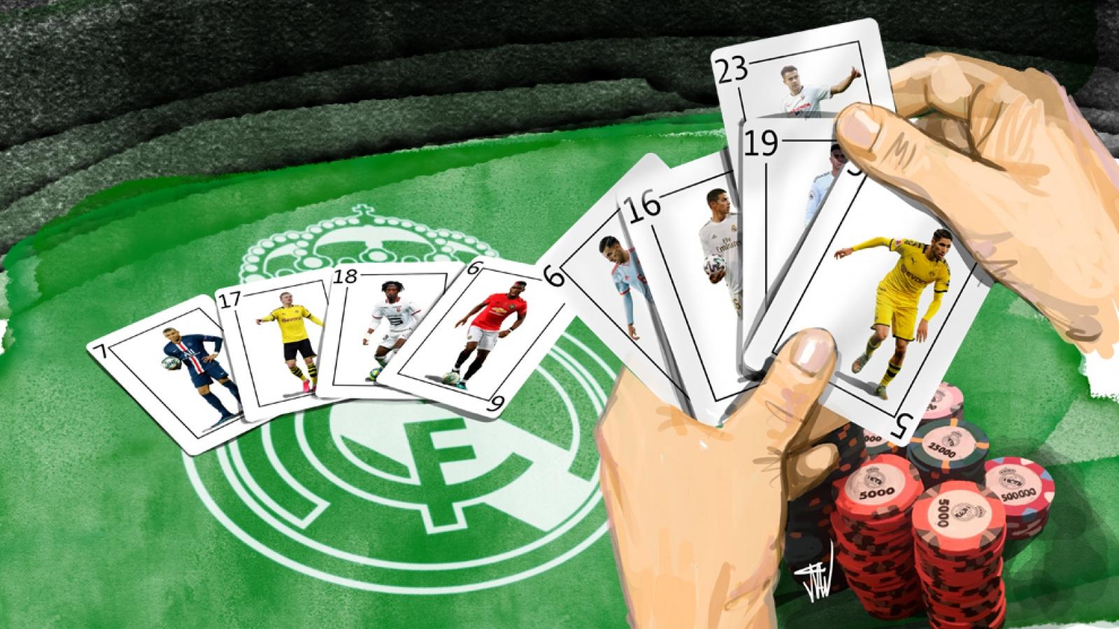 """Real Madrid sẽ là """"ông trùm"""" trên thị trường chuyển nhượng Hè 2020"""