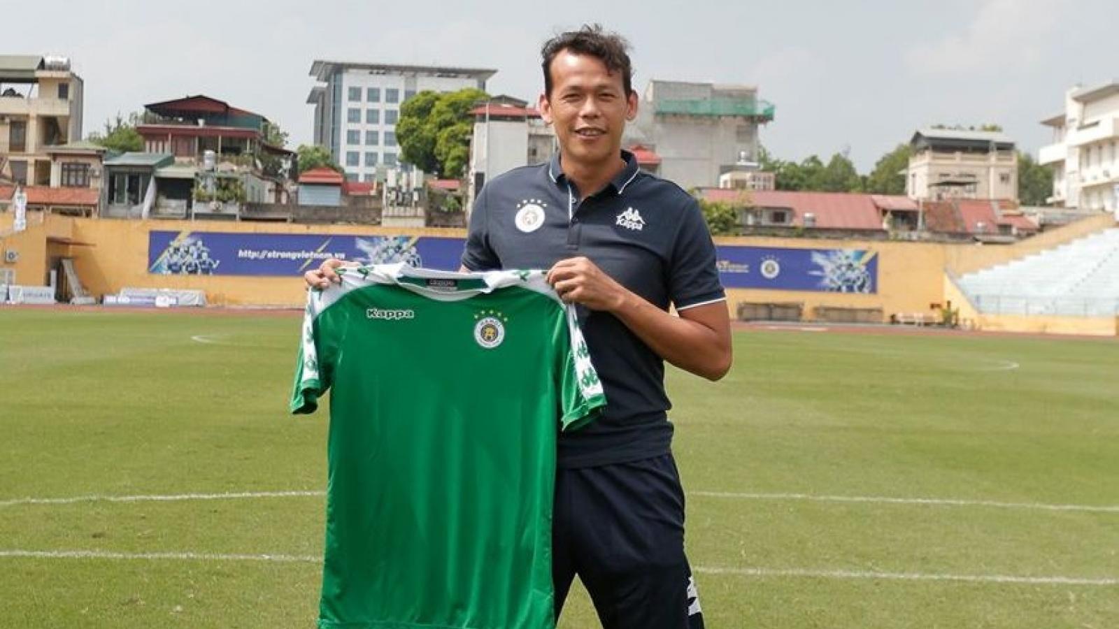 Thủ môn Tấn Trường chính thức gia nhập Hà Nội FC