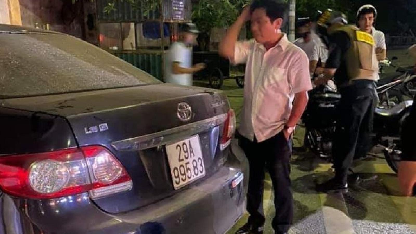 Gây tai nạn rồi bỏ chạy, Trưởng Ban Nội chính tỉnh Thái Bình bị tạm dừng công việc