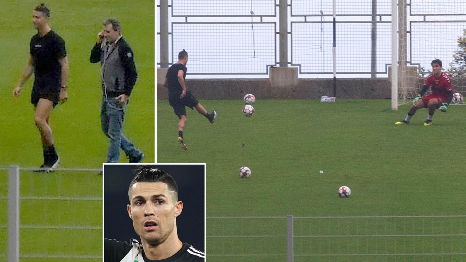 Thủ môn 18 tuổi kể chuyện đi tập với Cristiano Ronaldo trong mùa dịch