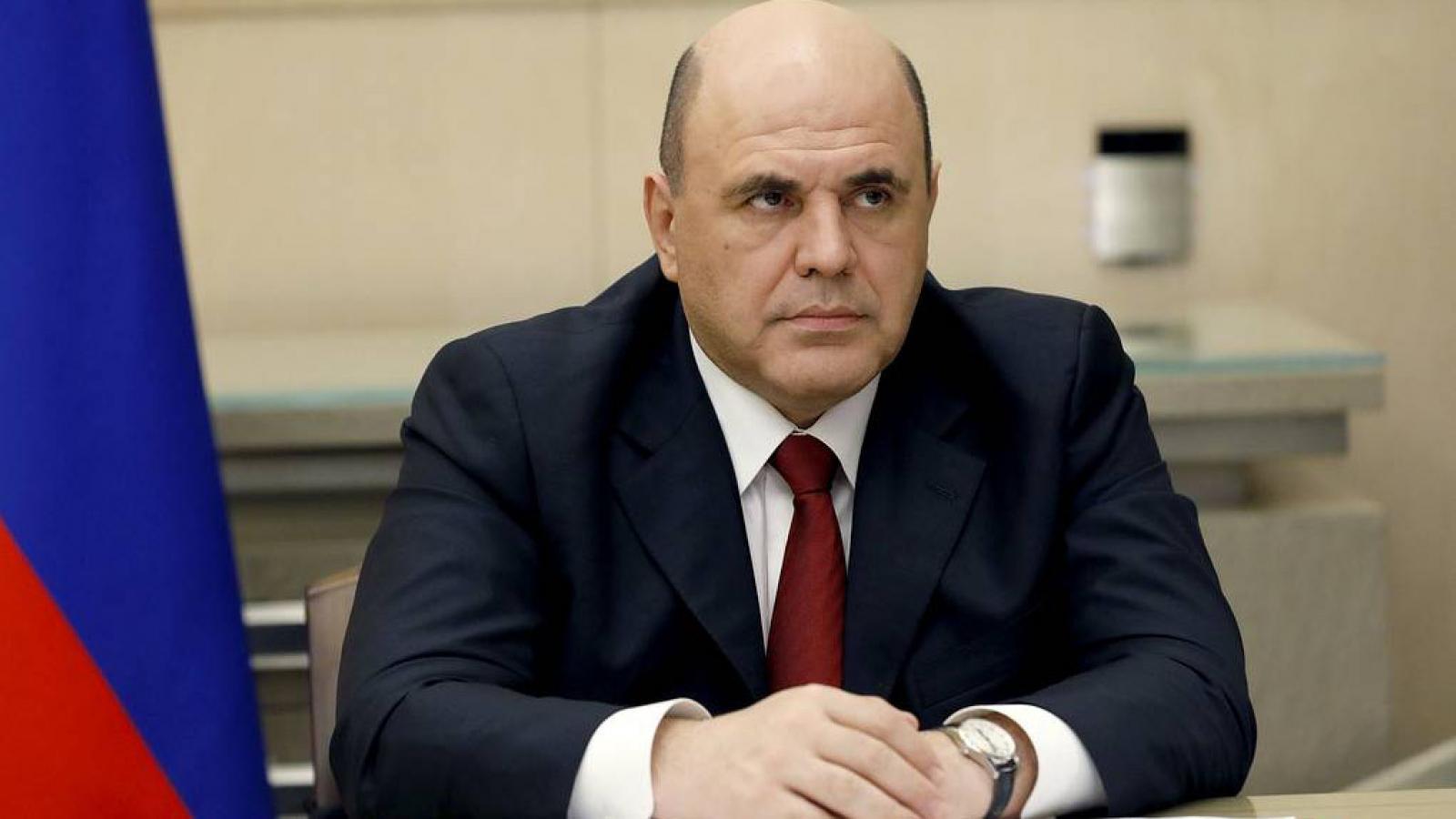 Thủ tướng Nga dương tính với SARS-CoV-2
