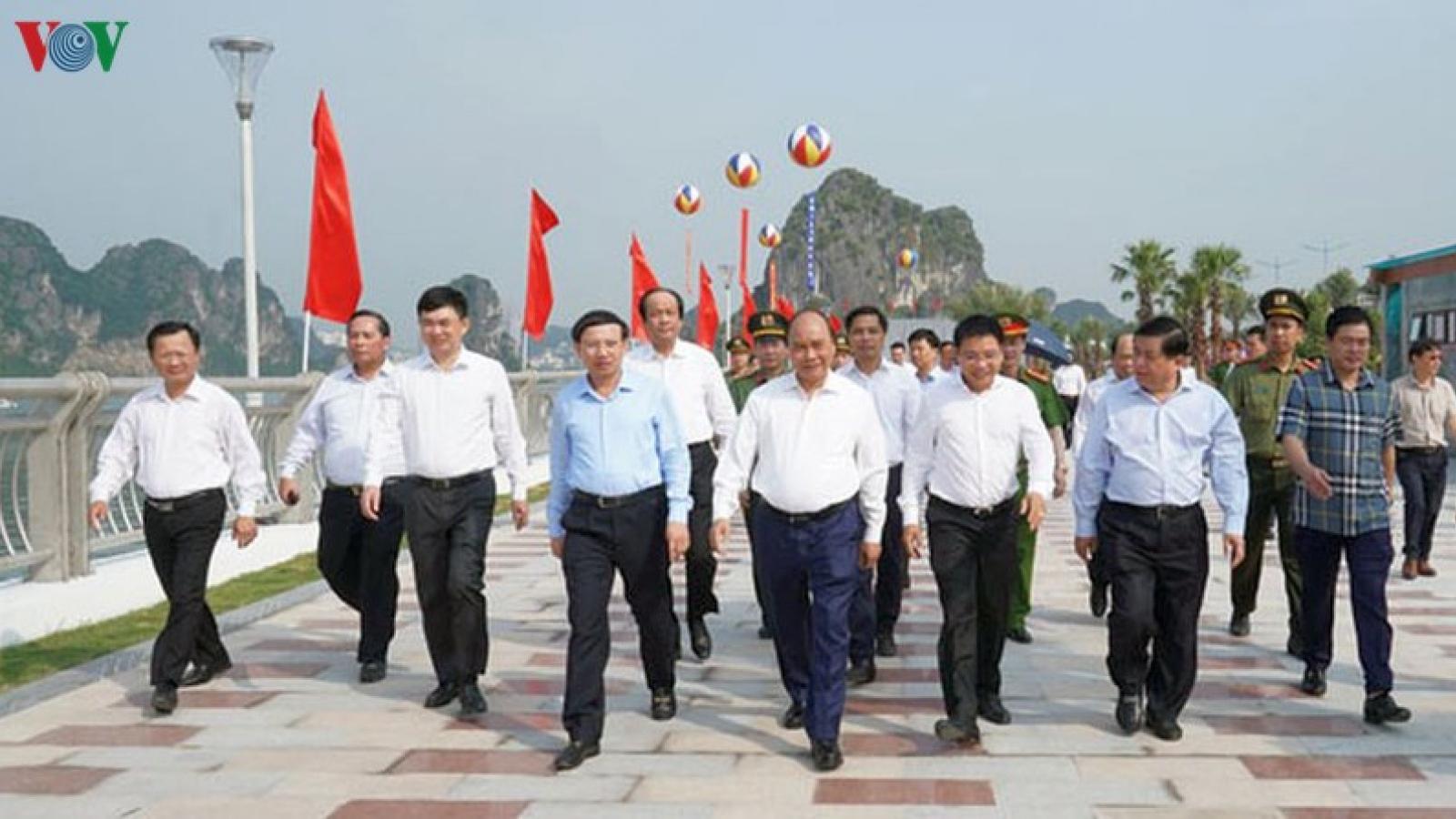 """Thủ tướng: Quảng Ninh không được thỏa mãn """"non"""" về kết quả đạt được"""