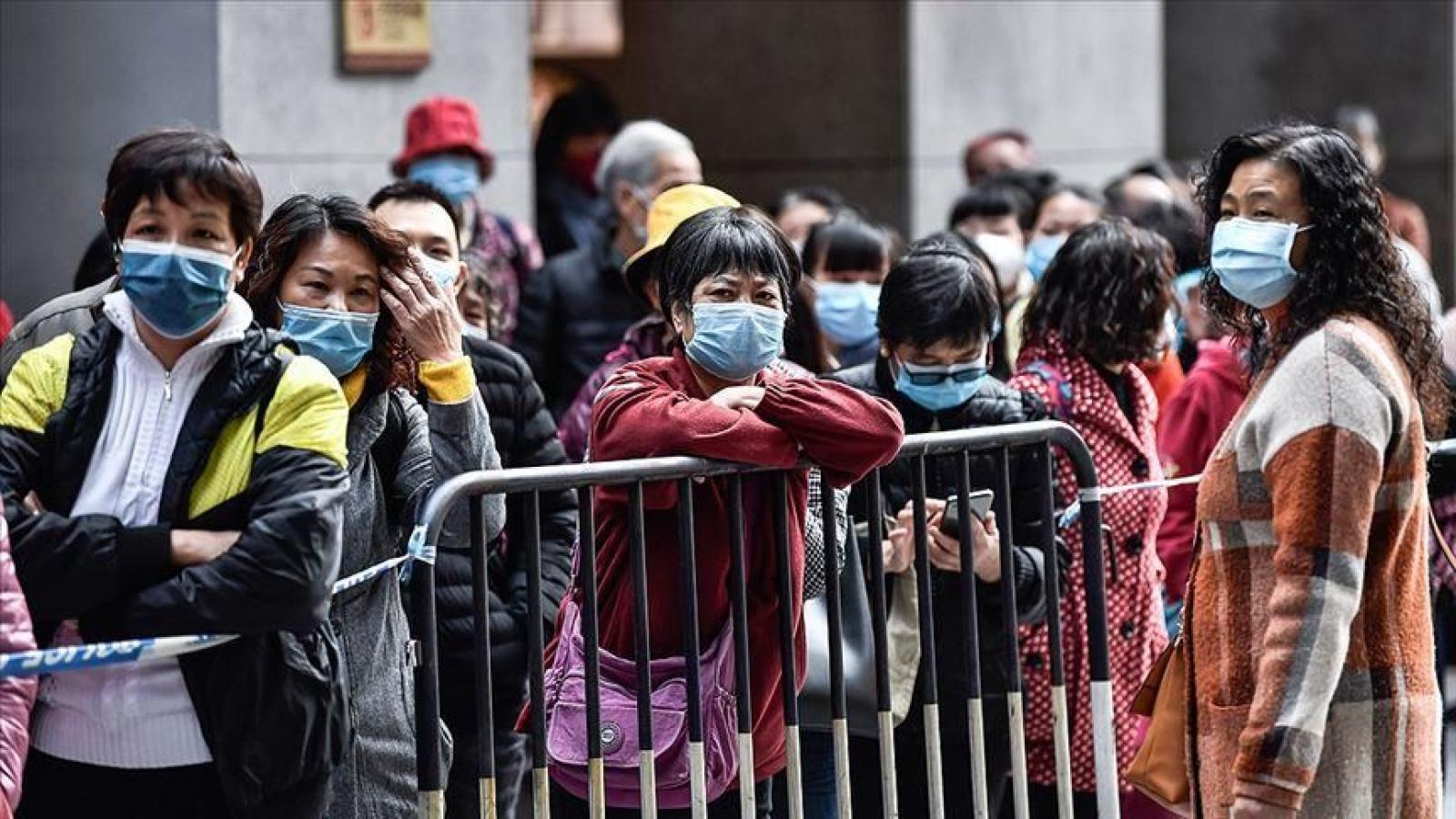 Một thành phố Trung Quốc xuất hiện ca Covid-19 trong cộng đồng