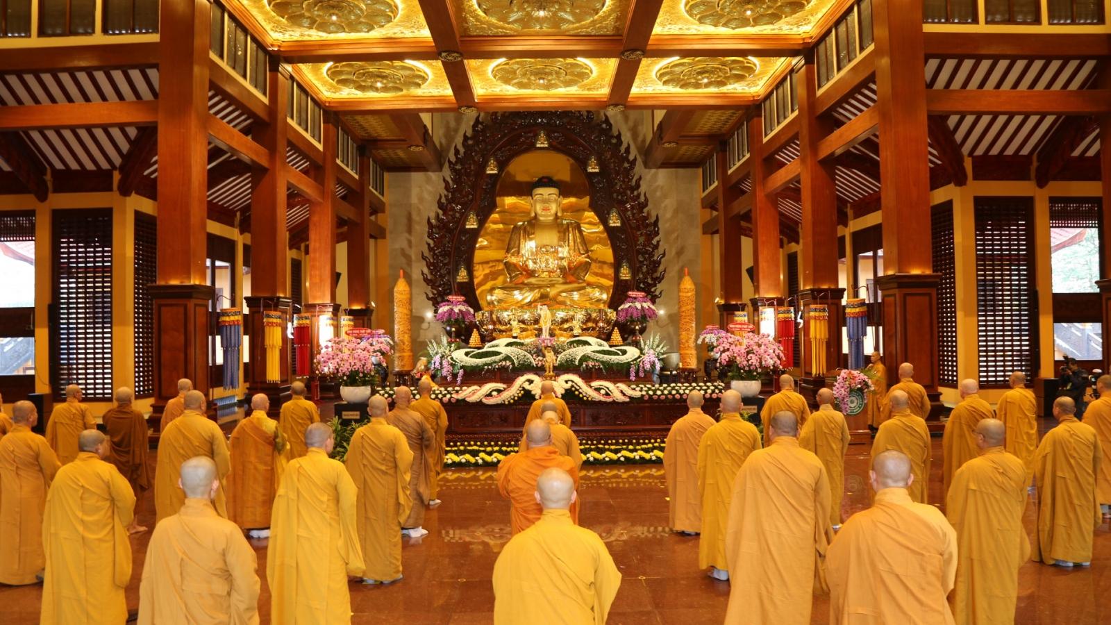 Giáo hội Phật giáo TP. HCM tổ chức Đại lễ Phật đản phù hợp chống dịch