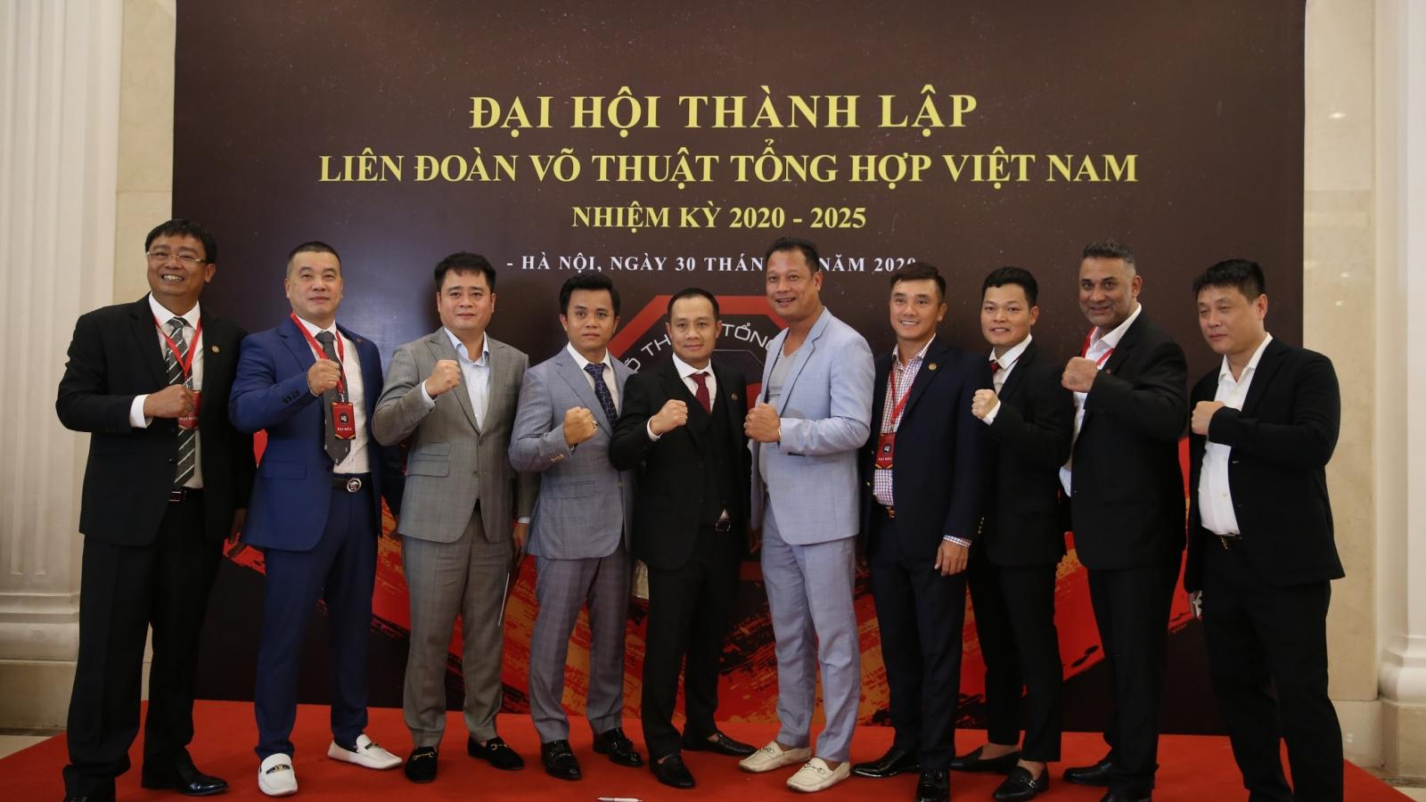 Cột mốc lịch sử MMA: Chính thức thành lập Liên đoàn Võ thuật tổng hợp Việt Nam