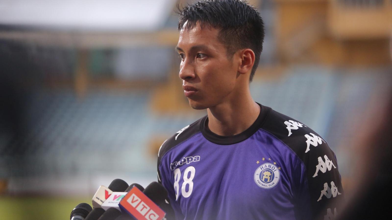 Hùng Dũng: Ngoại binh Hà Nội FC cần cố gắng hơn nữa