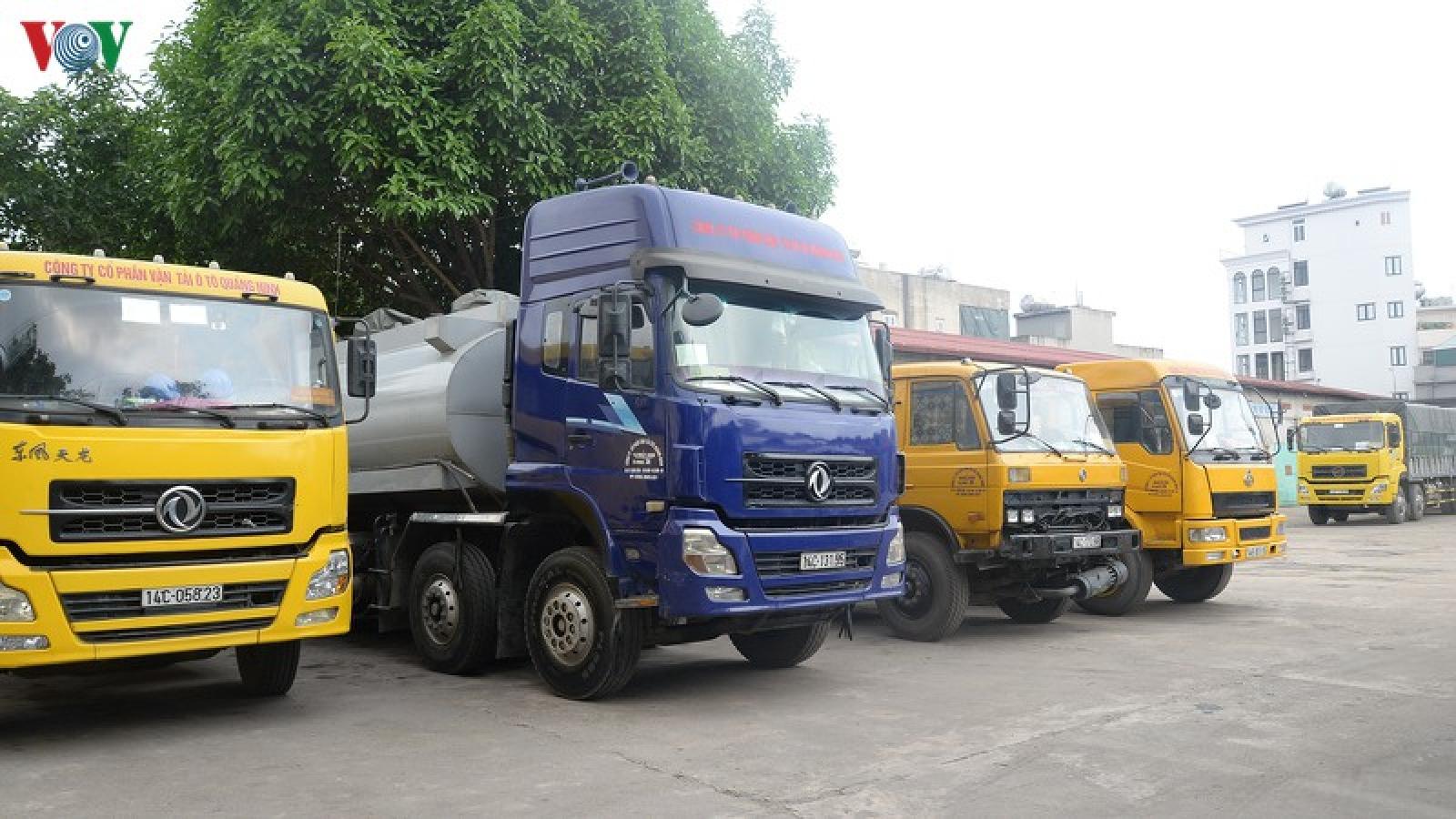 Gỡ khó cho doanh nghiệp vận tải