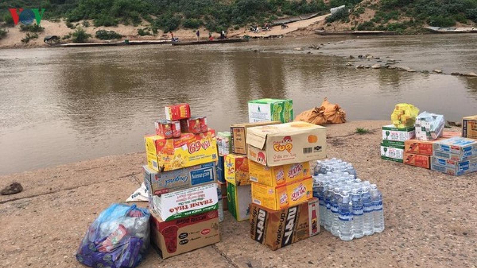 Quảng Trị mở lại 4 cửa khẩu phụ thông thương hàng hoá với Lào