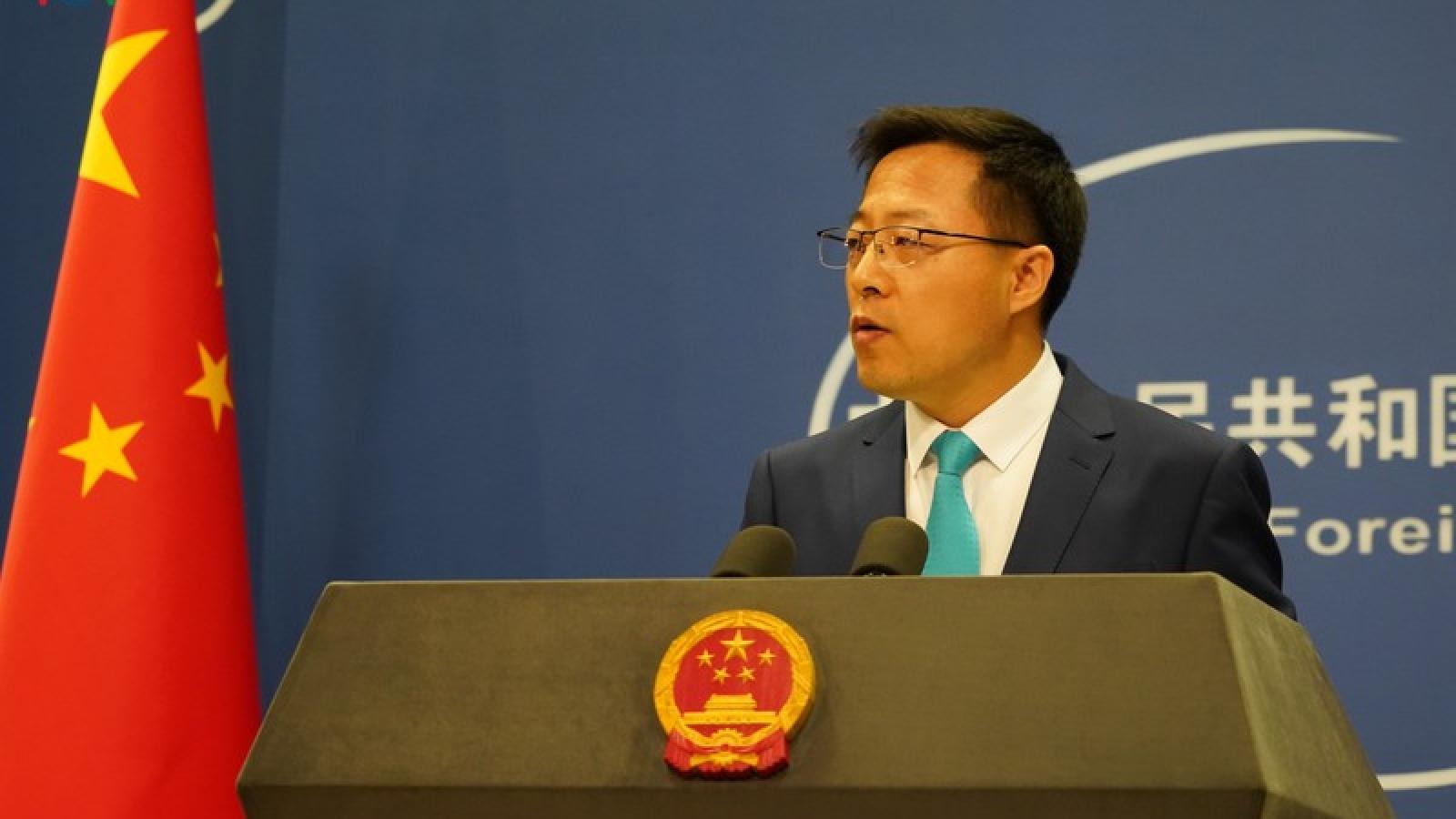 Trung Quốc tuyên bố không thay đổi lập trường với Australia