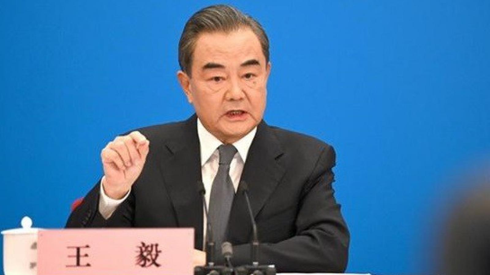 Ngoại trưởng Vương Nghị: Mỹ không thể cản bước Trung Quốc