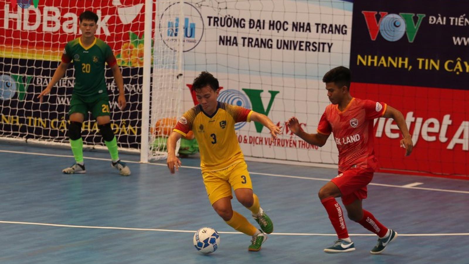 Vòng loại giải futsal HDBank VĐQG 2020: Quảng Nam rơi cửa tử