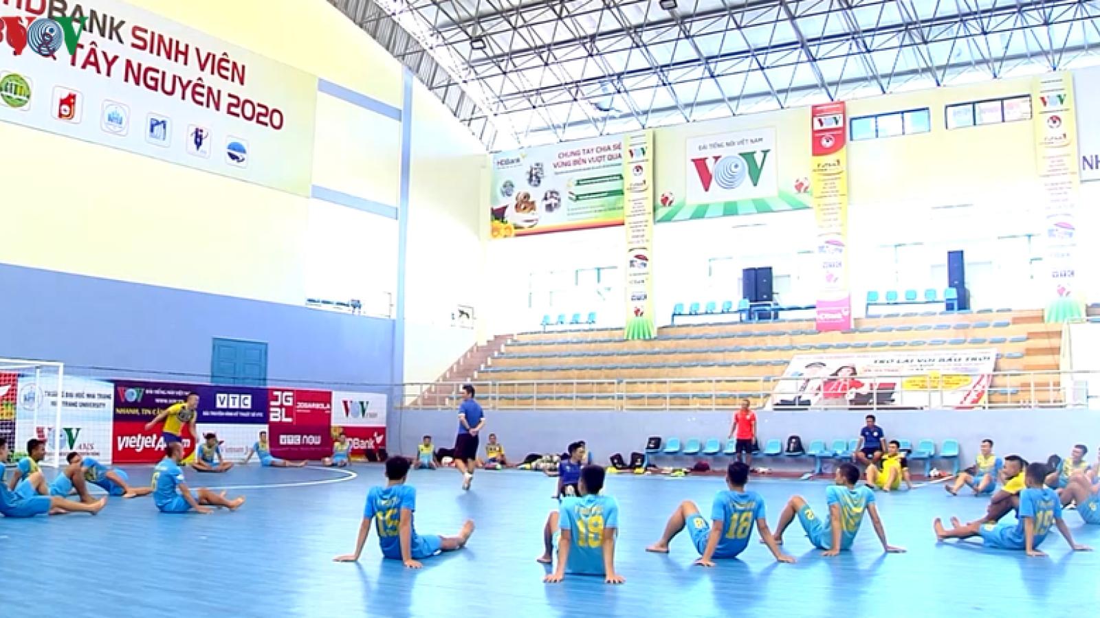 Vòng loại Giải Futsal HDBank VĐQG 2020 sẵn sàng khởi tranh
