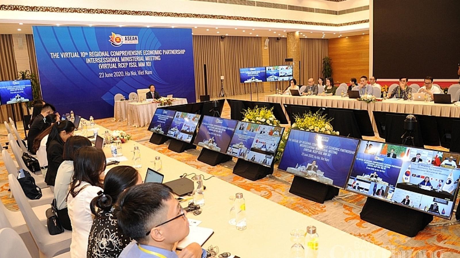 Hiệp định RCEP sẽ tác động tích cực đến quá trình phục hồi kinh tế ASEAN