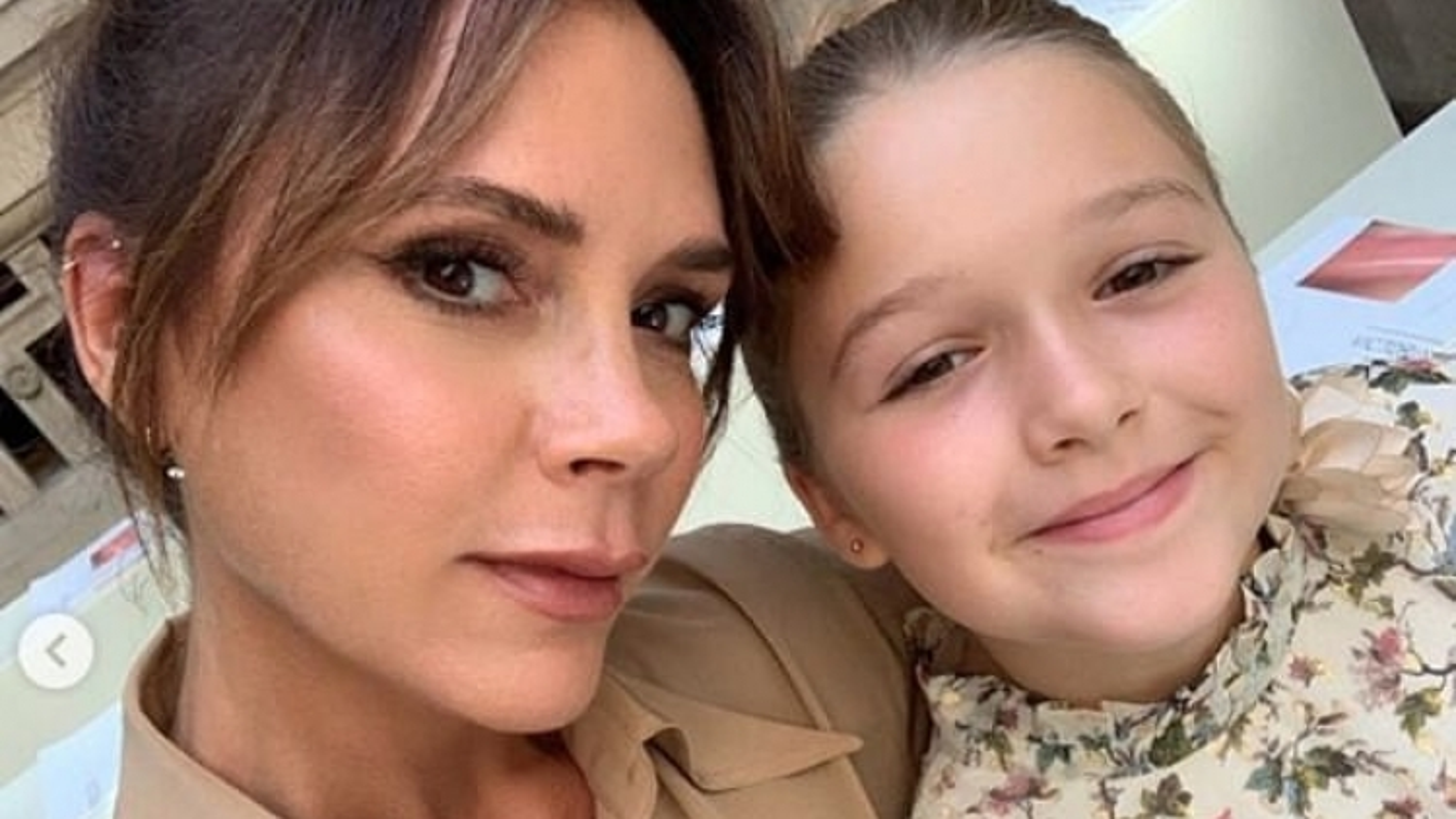 Con gái David Beckham không muốn trở lại trường học sau khi nghỉ dịch
