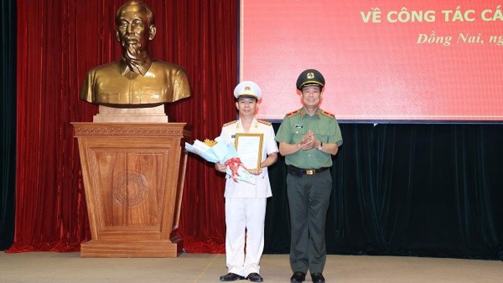Đại tá Trần Tiến Đạt làm Phó Giám đốc Công an tỉnh Đồng Nai