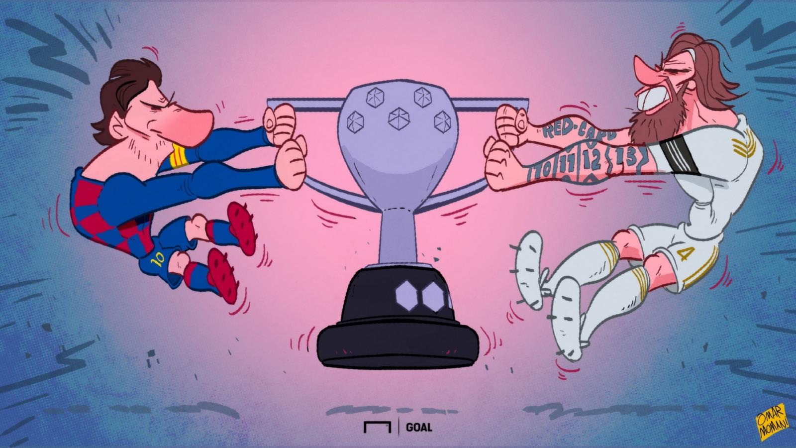 Biếm họa 24h: La Liga trở lại, Barca hay Real vô địch?