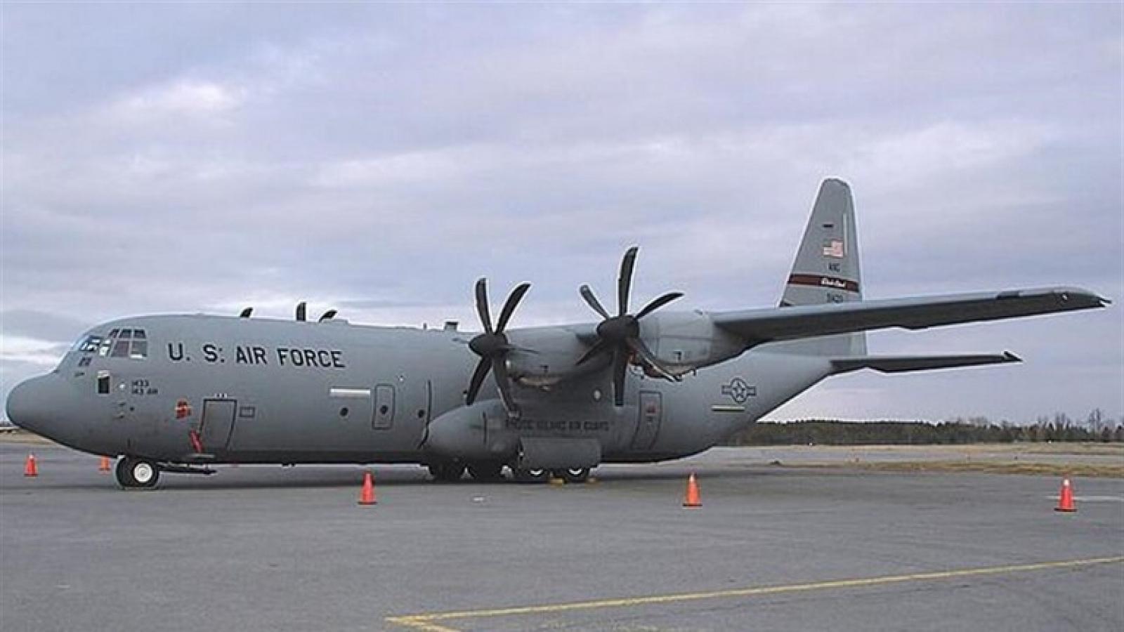 Máy bay quân sự C130 của Mỹ bị rơi ở căn cứ không quân Iraq