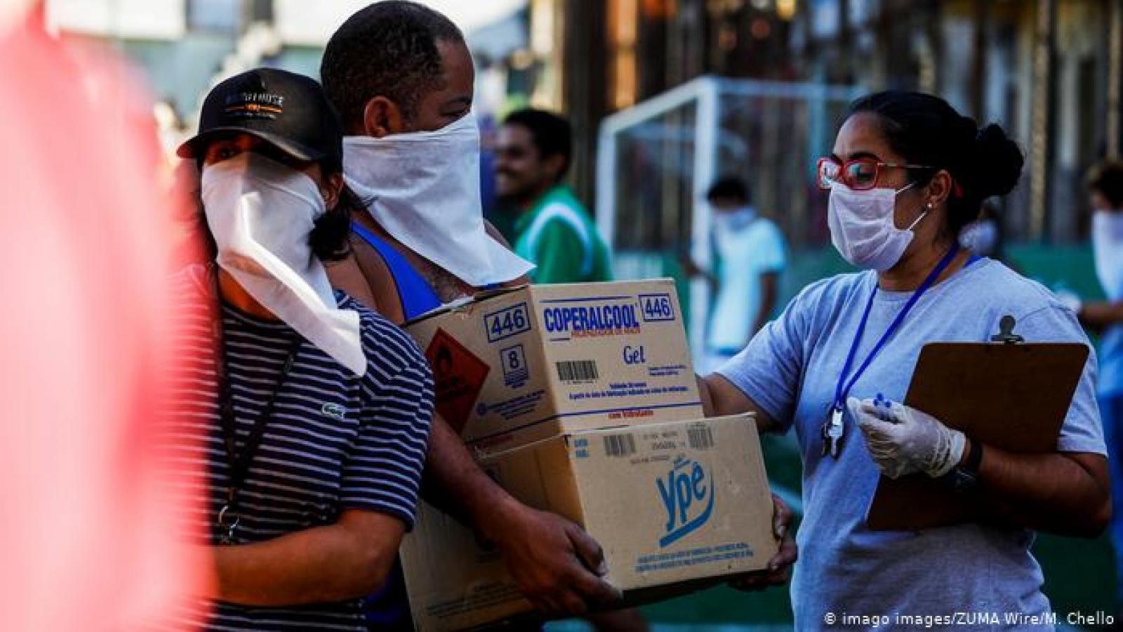 Số ca mắc Covid-19 ở Brazil vượt ngưỡng 1 triệu
