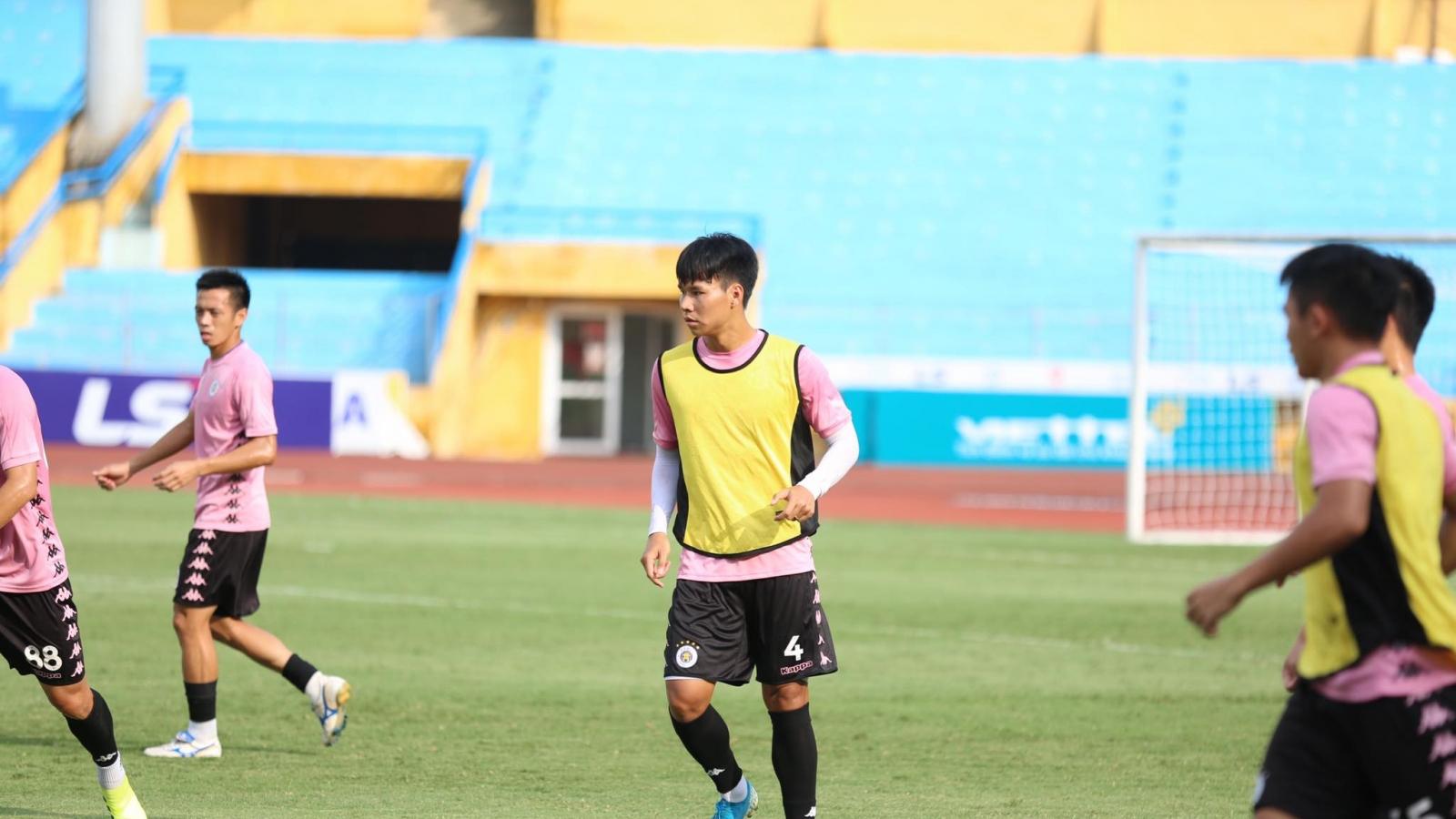 Hậu vệ Hà Nội FC khẳng định sẽ vô hiệu hóa Phan Văn Đức