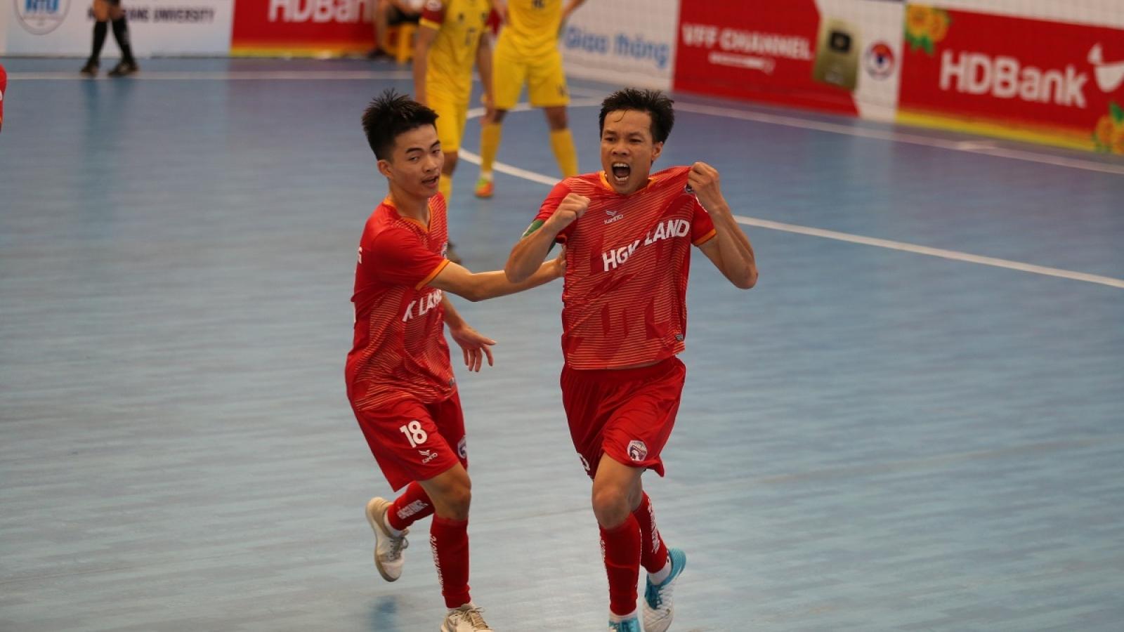 Xem trực tiếp Futsal HDBank VĐQG 2020: Hưng Gia Khang - Tân Hiệp Hưng