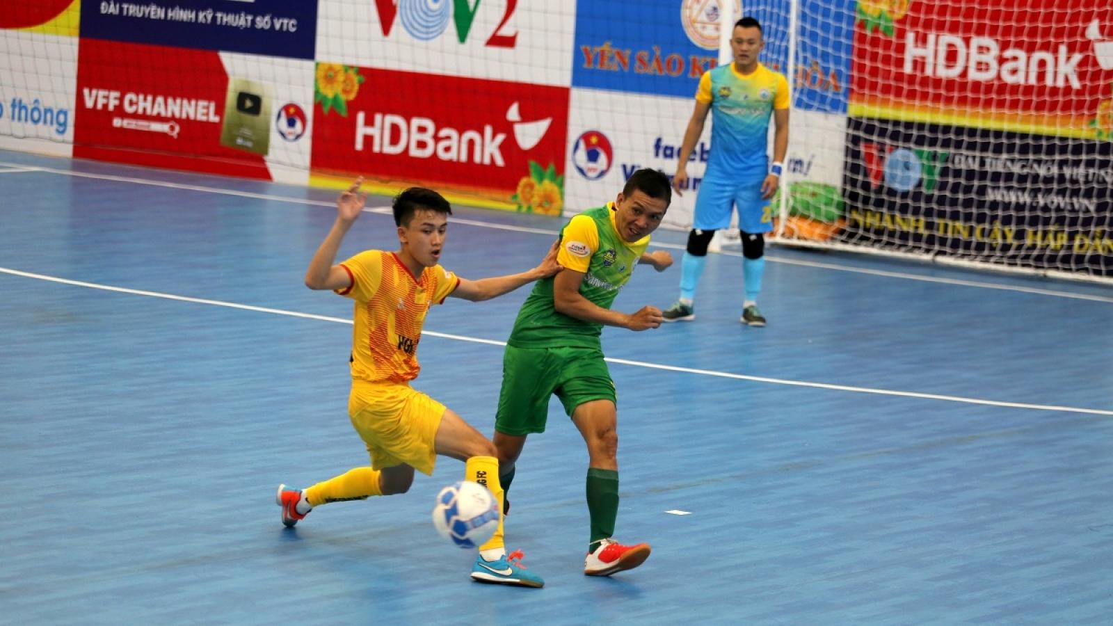 Xem trực tiếp Futsal HDBank VĐQG 2020: Hưng Gia Khang - Quảng Nam
