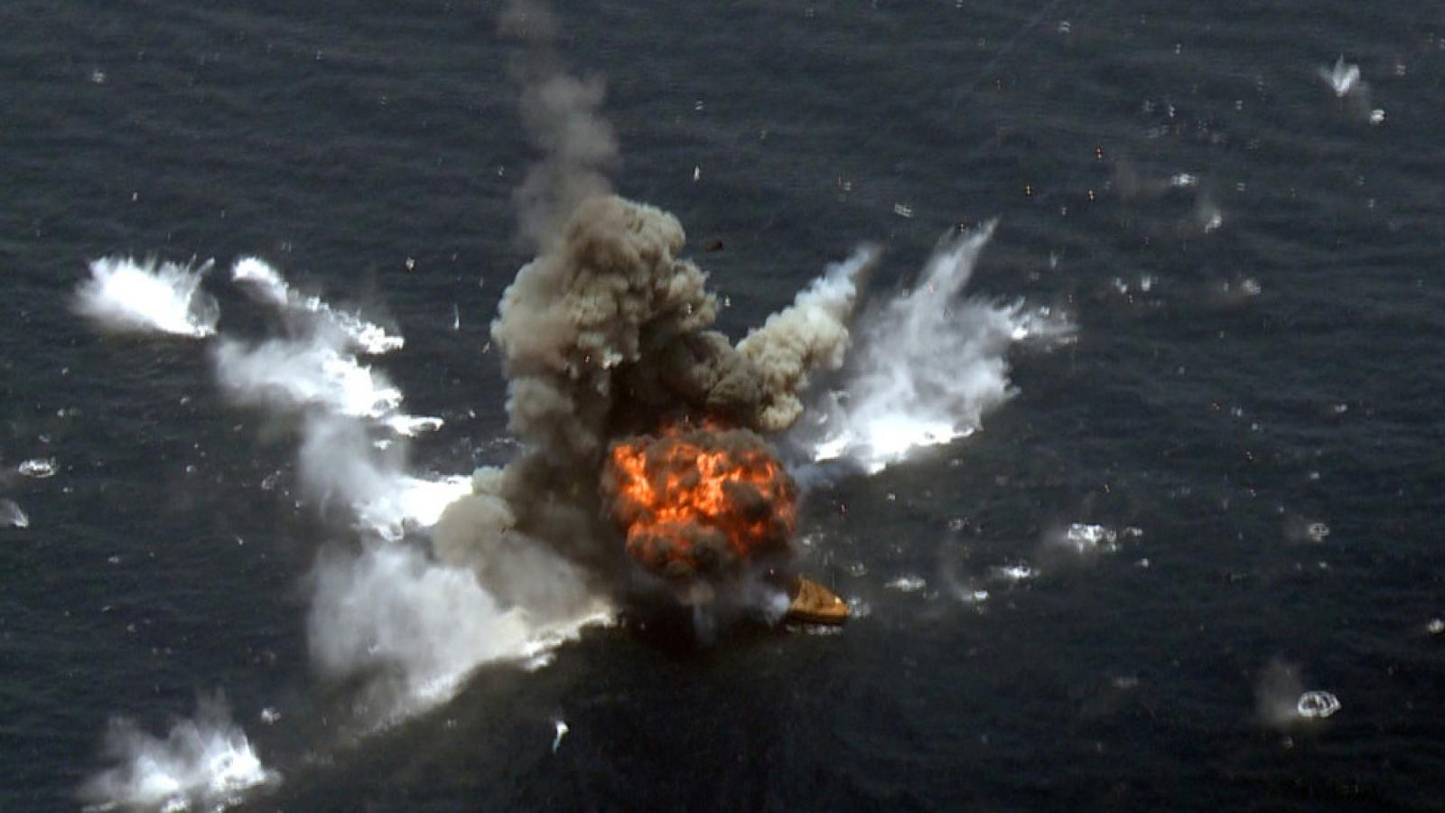 Iran thử thành công tên lửa hành trình chống hạm mới tại Ấn Độ Dương