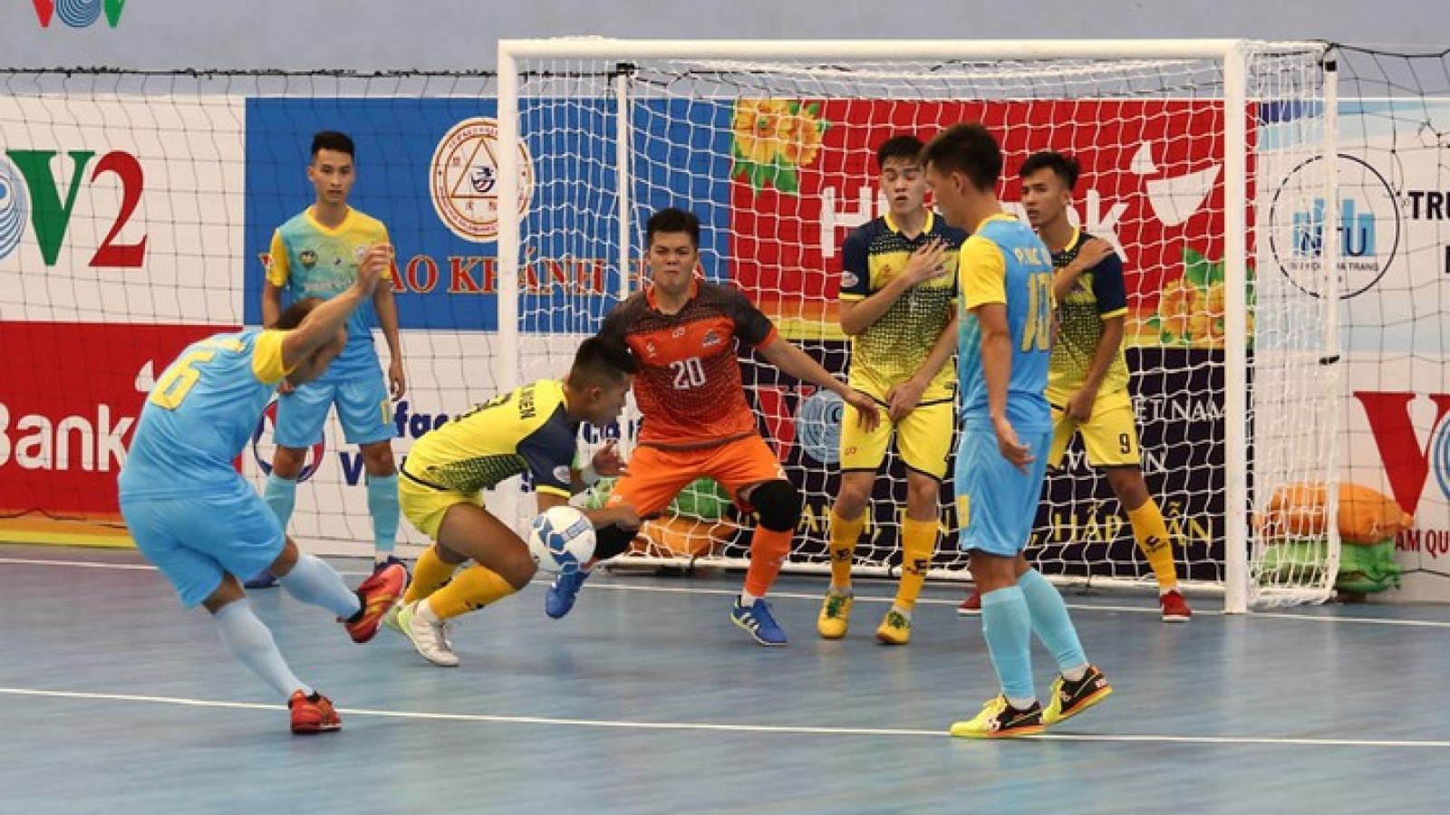 Xem trực tiếp Futsal HDBank VĐQG 2020: Hưng Gia Khang - Khánh Hòa