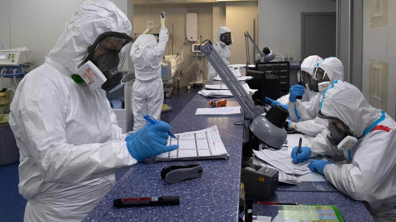 Nguy cơ lây nhiễm virus SARS-CoV-2 tại Nga vẫn chưa bị đẩy lùi