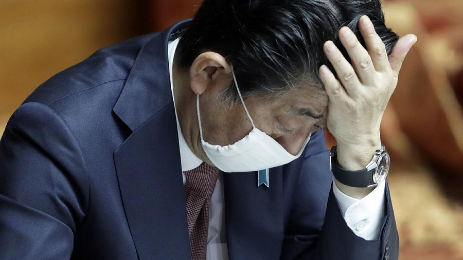 Tỷ lệ ủng hộ chính phủ Nhật Bản liên tục giảm