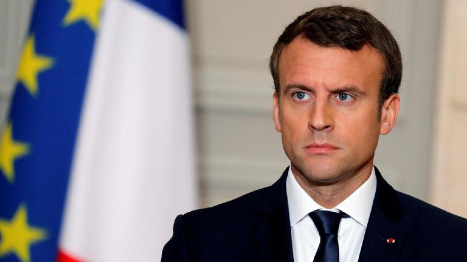 """Tổng thống Pháp: Thổ Nhĩ Kỳ đang chơi """"một trò chơi nguy hiểm"""" ở Libya"""