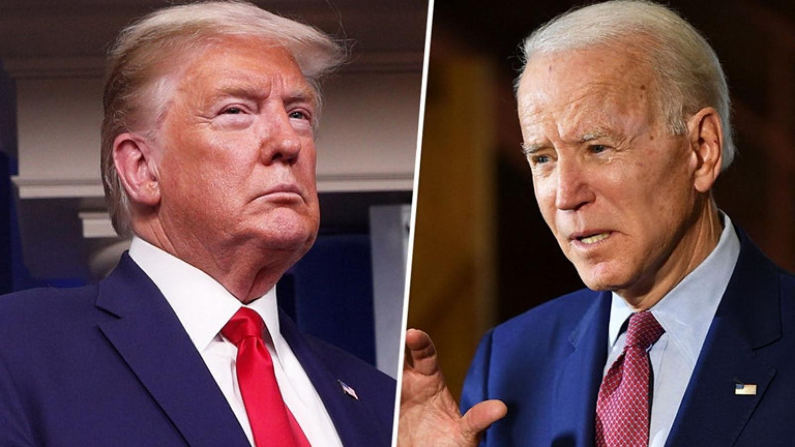 Bầu cử Mỹ: Biden đạt mốc Hillary chưa từng chạm tới khi so với Trump