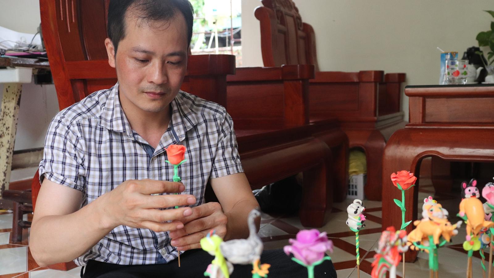 """Nghệ nhân Nguyễn Văn Thành và hành trình mang tò he """"xuất ngoại"""""""