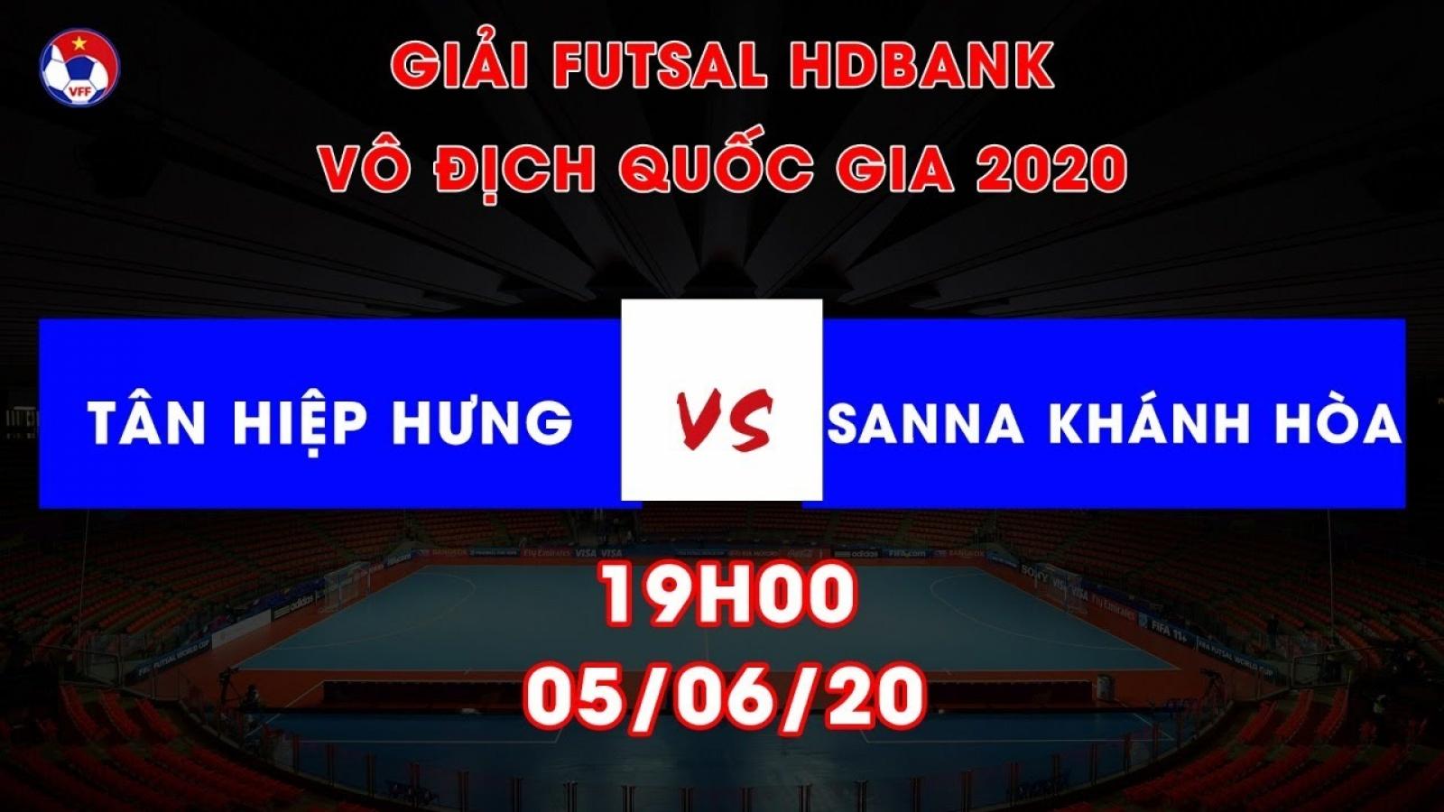 Xem trực tiếp Tân Hiệp Hưng vs S. Sanna Khánh Hòa