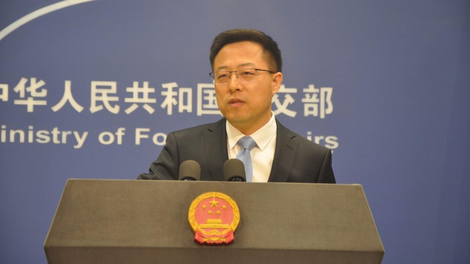 Trung Quốc phản ứng với các quan chức Mỹ chỉ trích về vấn đề Hong Kong