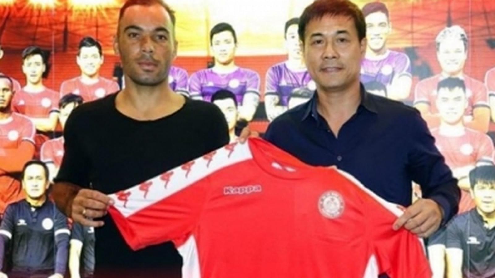 CLB TPHCM thanh lý hợp đồng với cầu thủ đắt giá nhất V-League 2020