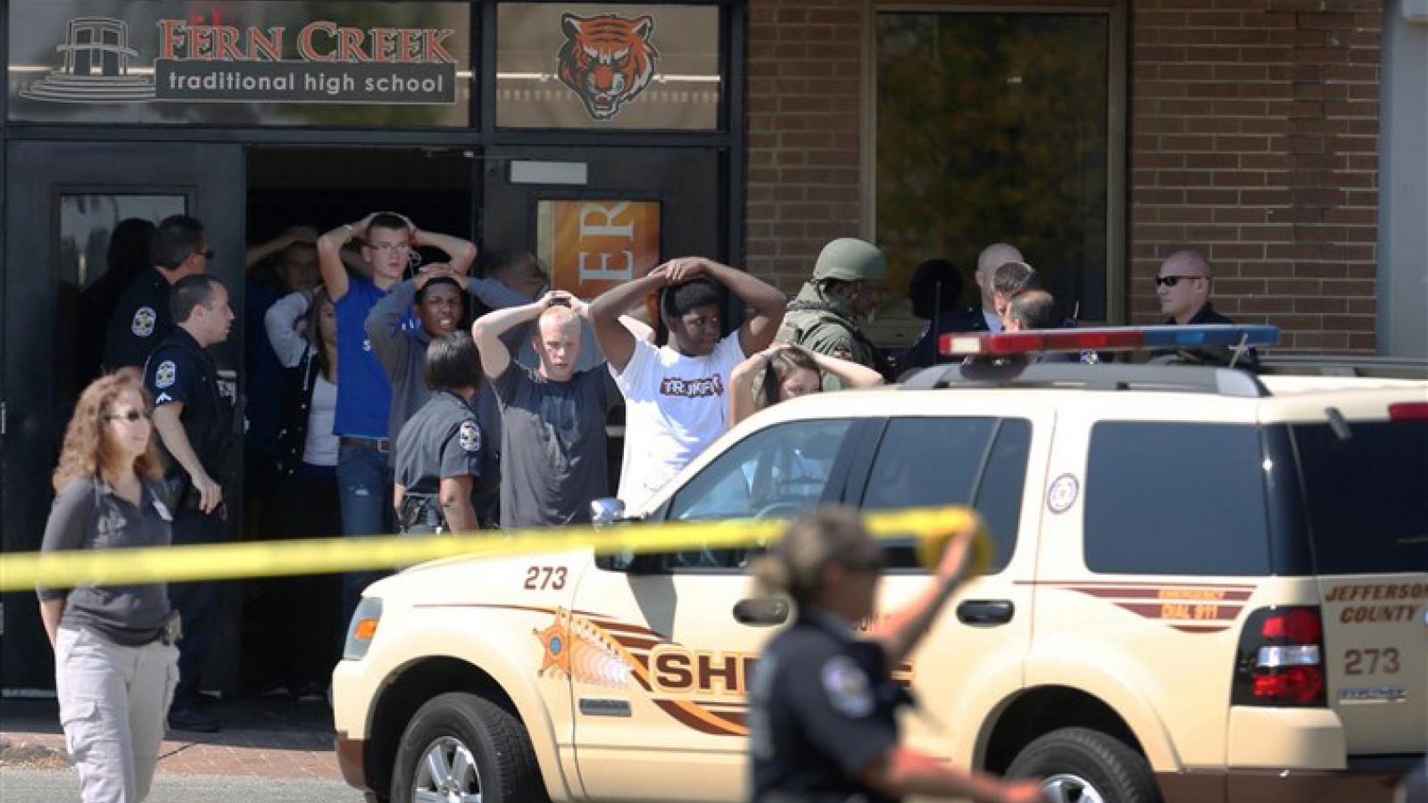 Mỹ khẩn trương điều tra vụ nổ súng ở Kentucky làm 2 người thương vong