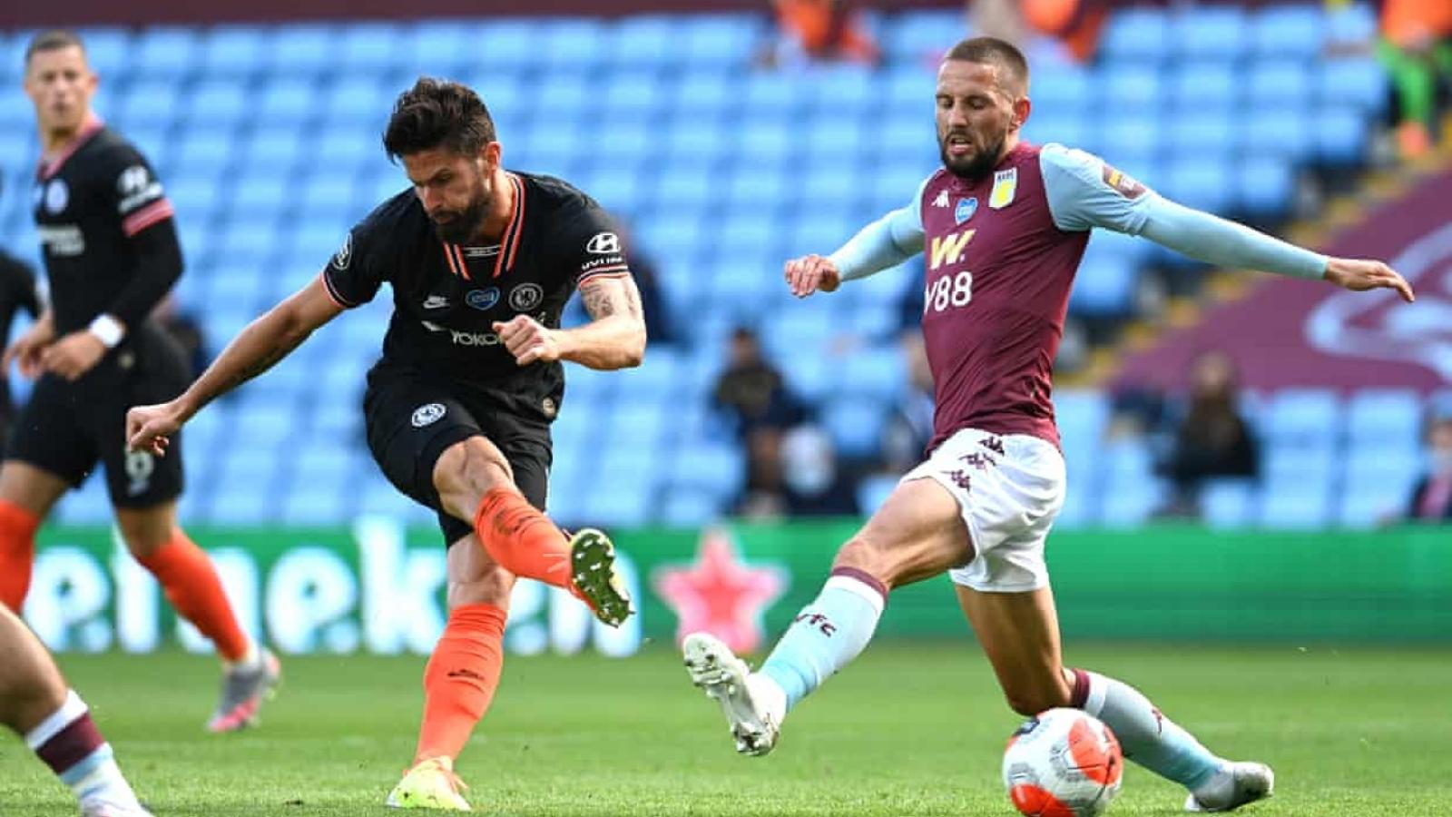 Ngược dòng thắng Aston Villa, Chelsea tạo ra khoảng cách 5 điểm với MU