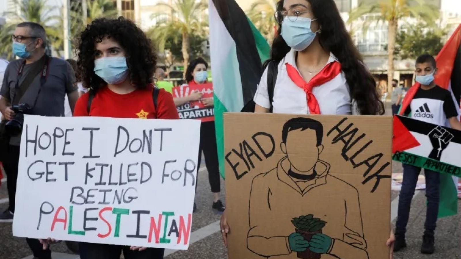 """Israel cũng nổ ra biểu tình chống """"bạo lực"""" của cảnh sát"""