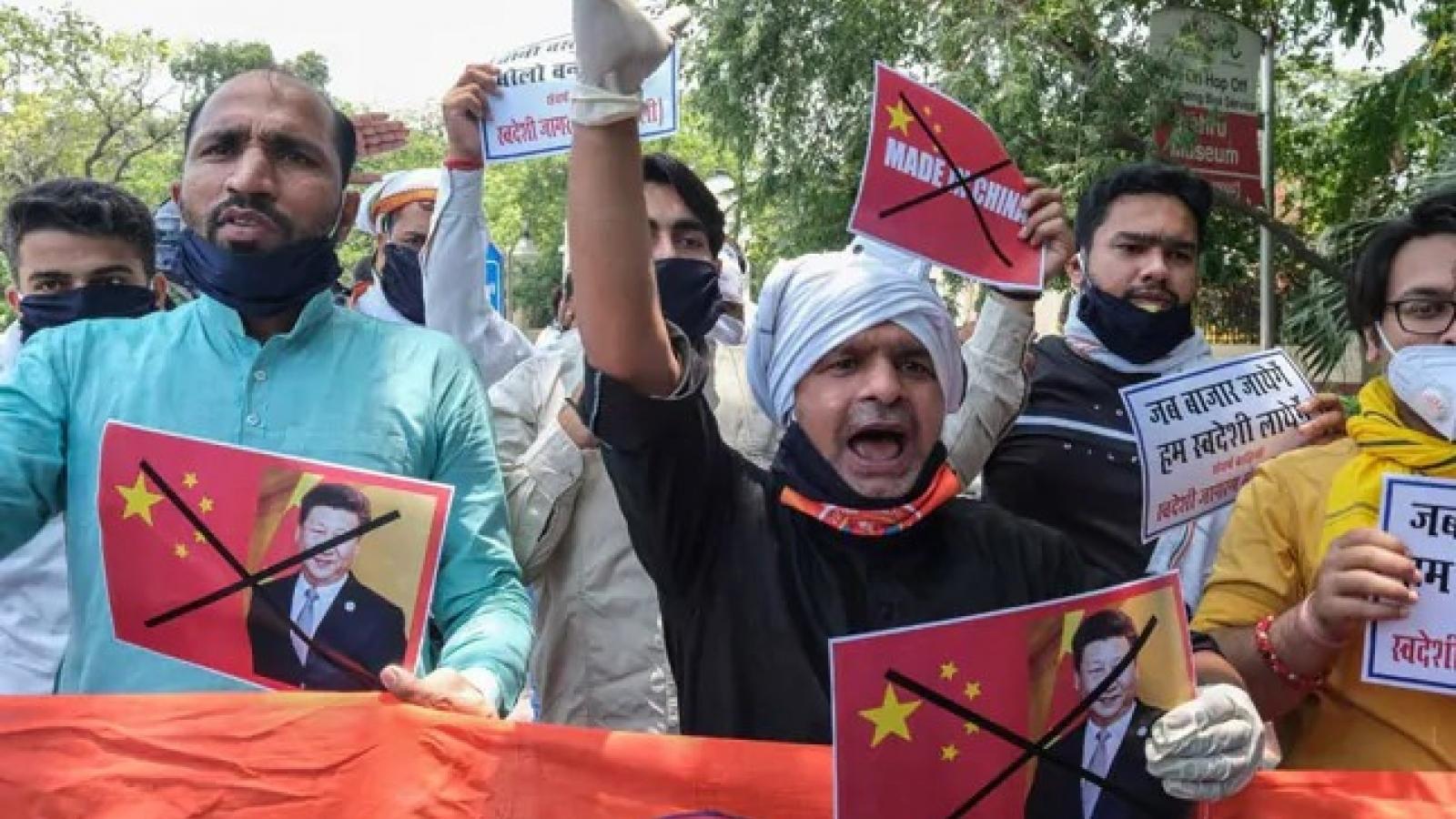 """Ấn Độ lên kế hoạch """"trừng phạt kinh tế"""" với Trung Quốc"""