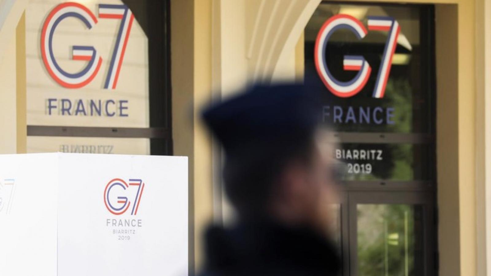 """Trung Quốc """"kiên quyết phản đối"""" Tuyên bố chung của G7 về Hong Kong"""