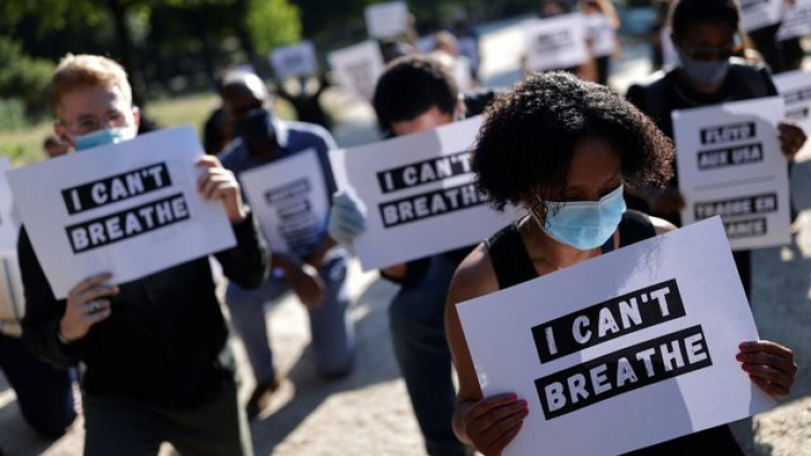 """Đằng sau Covid-19 và biểu tình: """"Căn bệnh kinh niên"""" của xã hội Mỹ"""