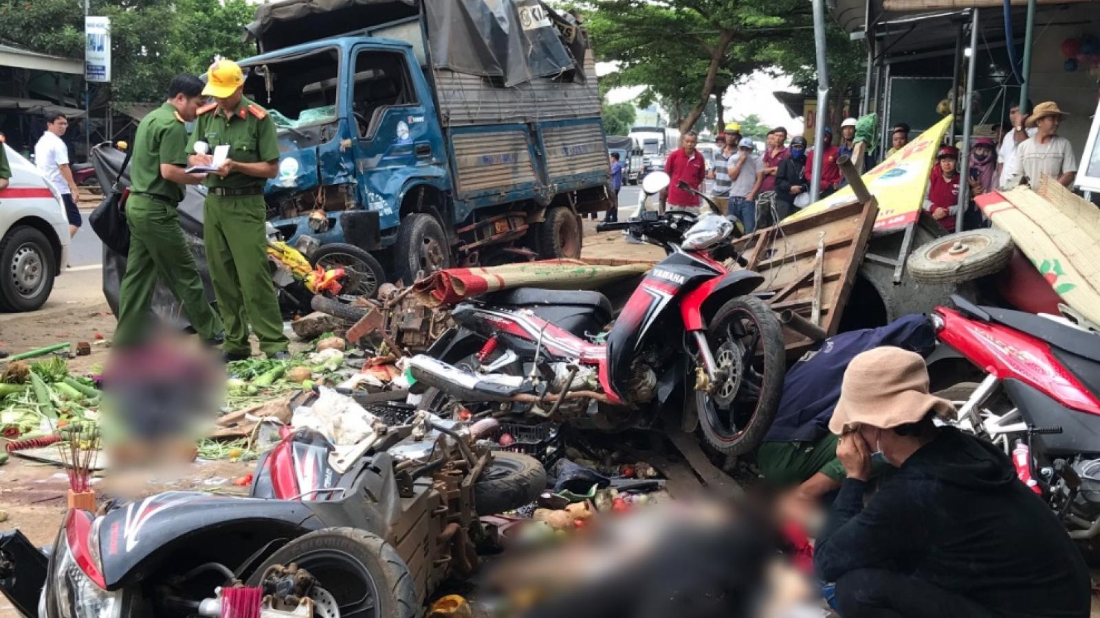 Đắk Nông khởi tố tài xế gây tai nạn khiến 10 người thương vong