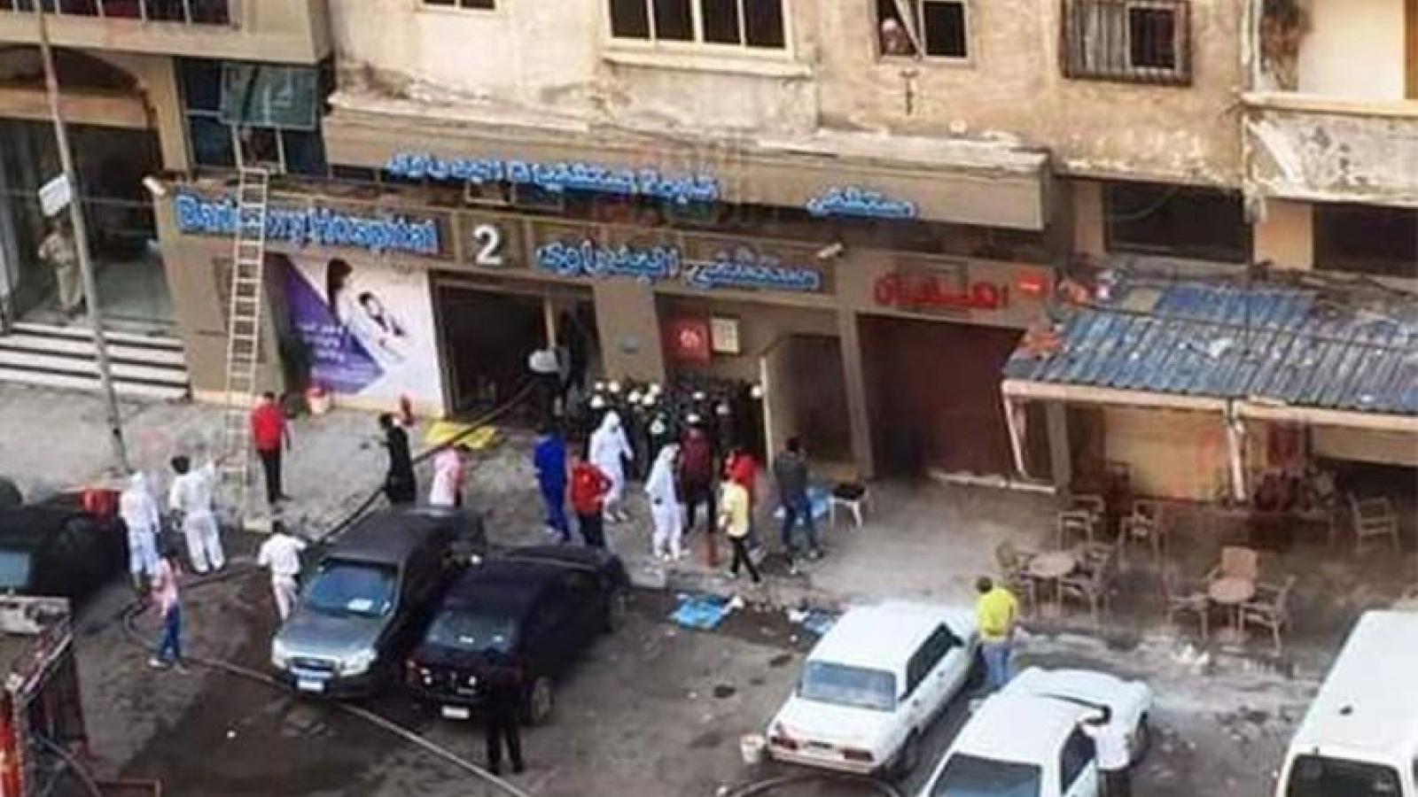Cháy bệnh viện ở Ai Cập, 7 bệnh nhân Covid-19 thiệt mạng